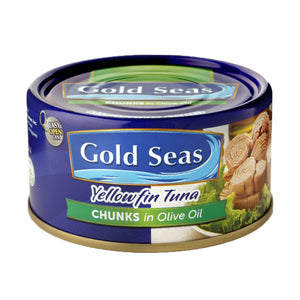 Yellowfin Tuna Chunks in Olive Oil (90g/185g)