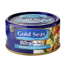 Load image into Gallery viewer, Yellowfin Tuna Chunks in Springwater 185g
