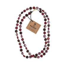 Läs in bild Halsband Tiny Smartie - Plum Red