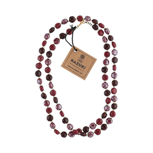 Halsband Tiny Smartie - Plum Red