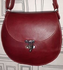 D Bag big leather bags - cape Masai Leather
