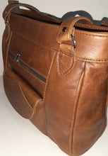 Load image into Gallery viewer, Leather tote organizer - cape Masai leather