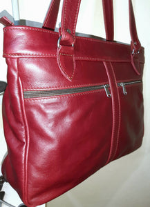 Tote leather bags - cape Masai Leather