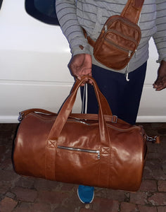 Duffle  travel  bags - cape Masai Leather