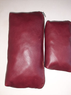 Makeup Purse - cape Masai Leather