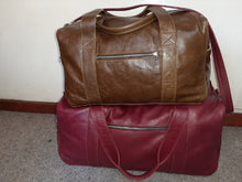 Load image into Gallery viewer, Masai leather travel bag XL