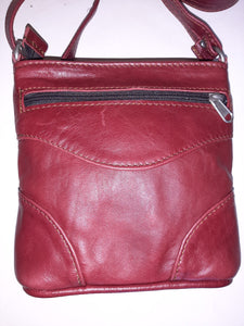 Sling bags short - cape Masai leather