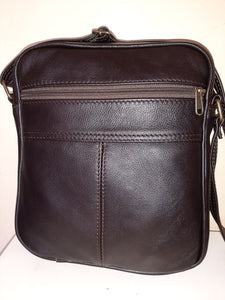 Men's Messenger bag - cape Masai Leather