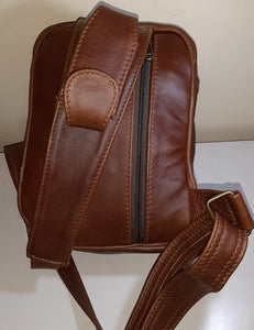 men's funny leather park bags - Cape Masai leather