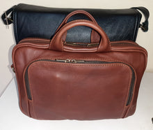 "Load image into Gallery viewer, 12"" laptop bag - cape Masai leather"