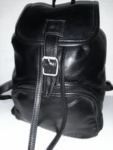 Load image into Gallery viewer, Leather Backpacks with flap - cape Masai Leather