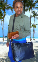 Load image into Gallery viewer, Ladies Laptop bags - cape Masai Leather