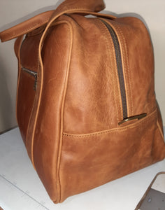 Cape Executive Traveler Bag - Cape Masai Leather