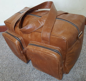 Centurion travel bags - cape Masai leather