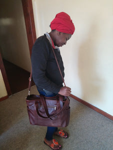 Ladies Laptop bags - cape Masai Leather