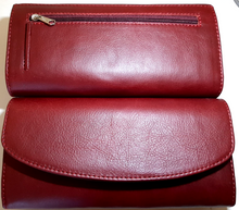 Load image into Gallery viewer, Ladies leather wallets - cape Masai Leather