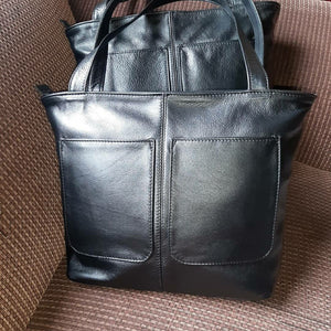 Botha tote designer bags - cape Masai leather