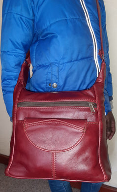 SH medium leather bags - cape Masai Leather