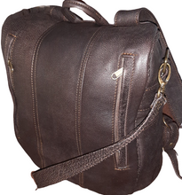 Load image into Gallery viewer, Jabu's travel leather Backpacks - cape Masai Leather