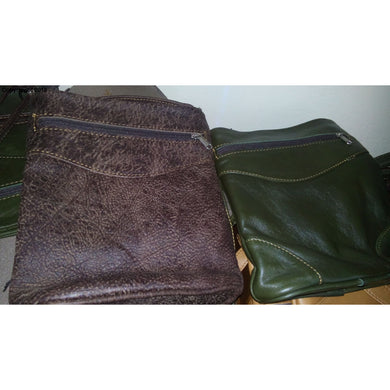 Sling leather bags  big - cape Masai Leather