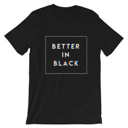BETTER IN BLACK