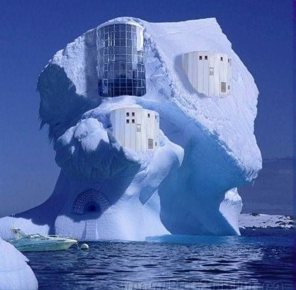House in the iceberg
