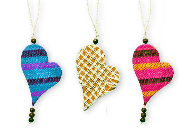 Fair Trade Heart Ornament
