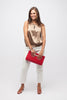 Red Clutch Fair Trade Handbag