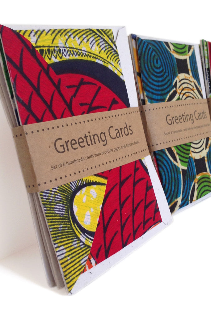 Handmade African Greeting Cards