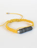 Lemon Yellow Snare Wire Bracelet