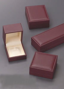 HS100C - MEDIUM JEWELRY BOX  - INSET CUSHION TOP