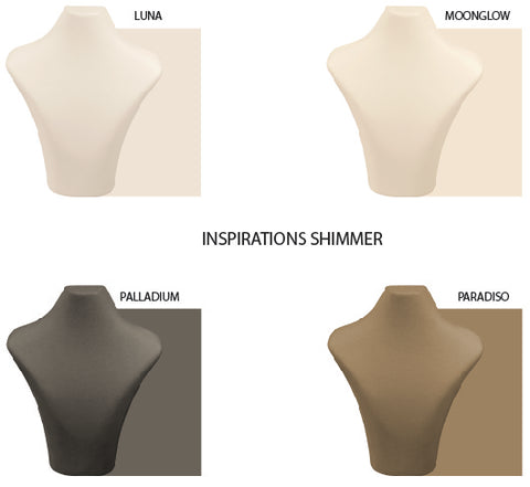INSPIRATIONS SHIMMER FAUX LEATHER
