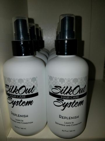 SilkOut Replenish Leave-In Moisturizer & Detangler
