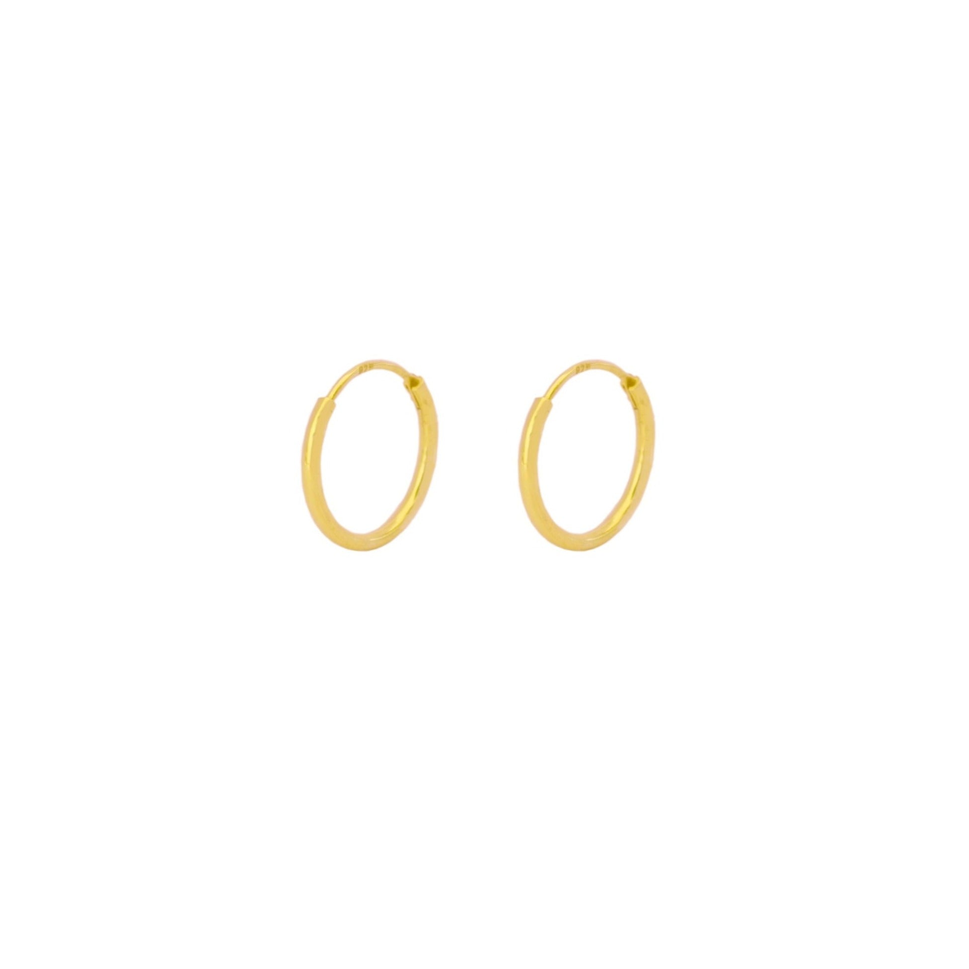 14 mm hoop gold - ByMirelae