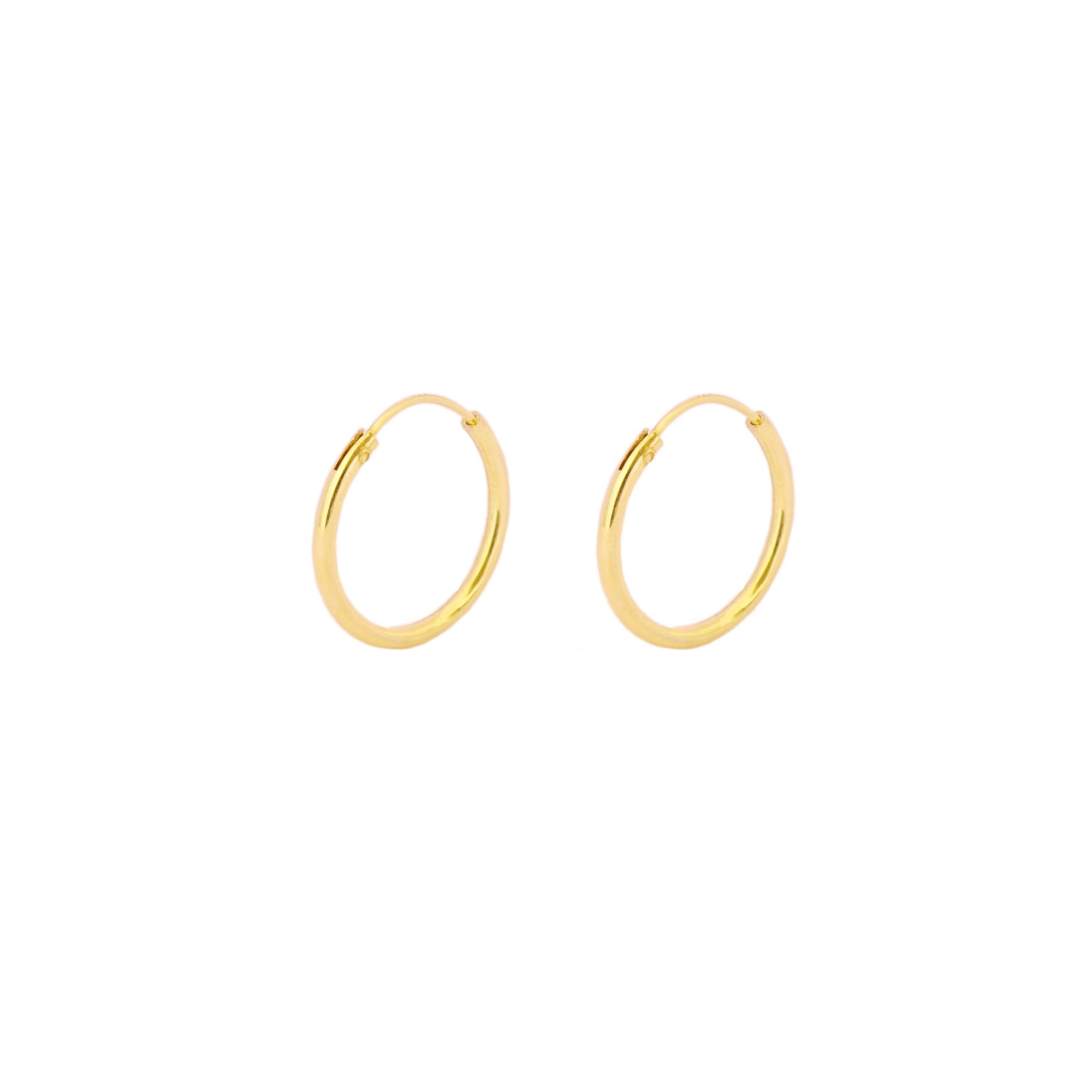 16 mm hoop gold - ByMirelae