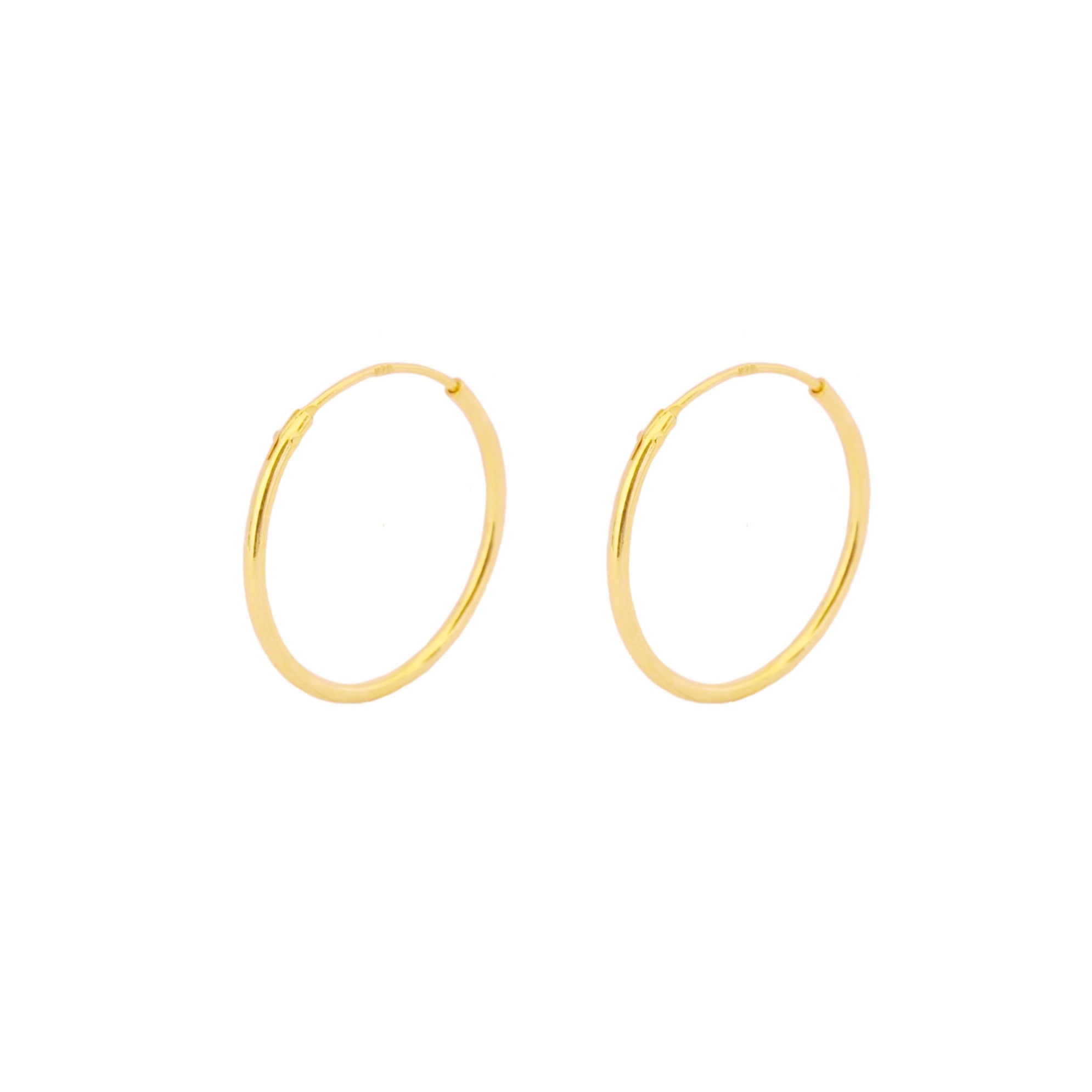 20 mm hoop gold - ByMirelae