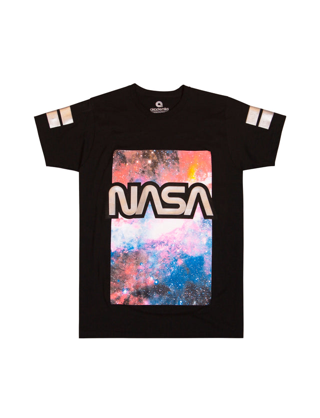 Galactic Screenprint & Hd Foil Tee
