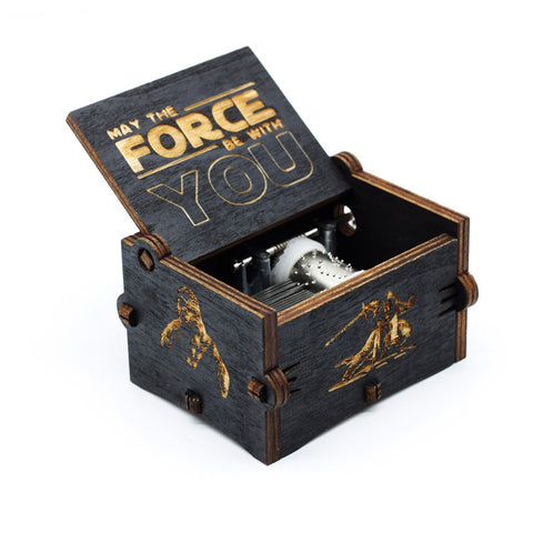 New Black Star Wars Music Box  Game of Thrones and other...
