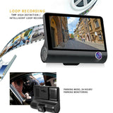 4.0 inch 1080P Dual Lens Full HD Car DVR