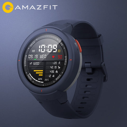 "English Version GPS Smart Watch 1.3"" AMOLED"