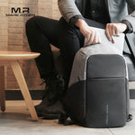USB charging Men 15inch Laptop Backpacks