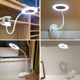 Clip Desk Lamp LED (Built-in Battery)