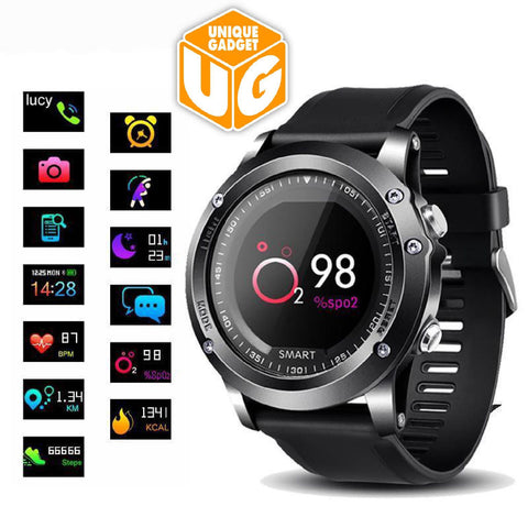 IP68 Smart watch Heart Rate Blood oxygen monitoring