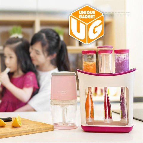 Squeeze Juice Station Baby Food Organination Storage