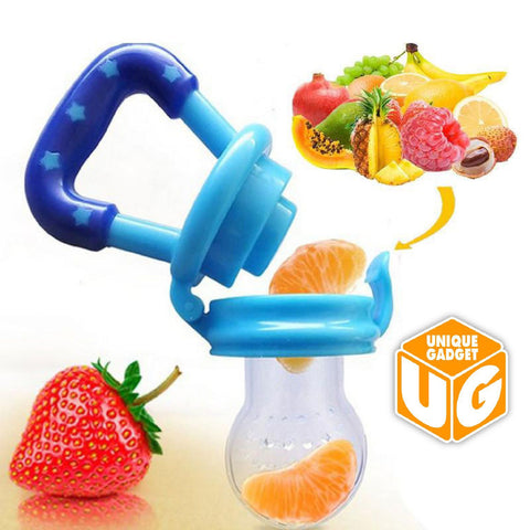 Fresh Food Nibbler Baby Pacifiers Feeder Kids Fruit Feeder
