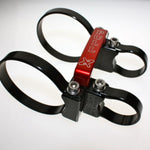 "Axia Quick Release Fire Extinguisher Mount w/3.25"" Clamps"