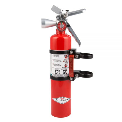 Axia Quick release fire extinguisher mount w/ 2.5lb HALOTRON extinguisher
