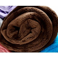 Personalised Blankets - Mink Chocolate