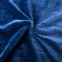 Blankets for Cat- Mink Navy Blue