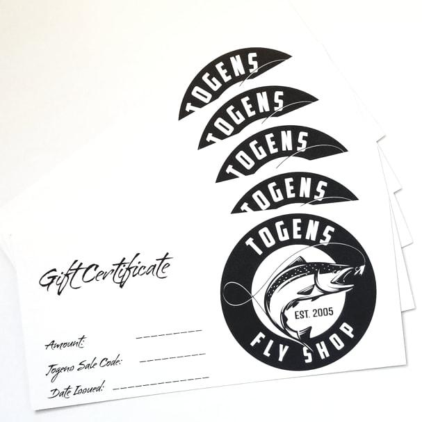 Gift Cards - Togens Fly ShopGift Card
